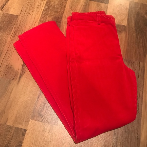 huge range of many fashionable big discount ❤️Boys: Red Corduroy POLO by Ralph Lauren pants❤️